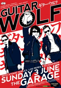 Guitar Wolf poster